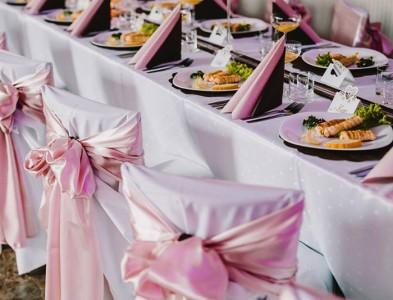 Výzdoba a nasvietenie svadba Horné Štitáre
